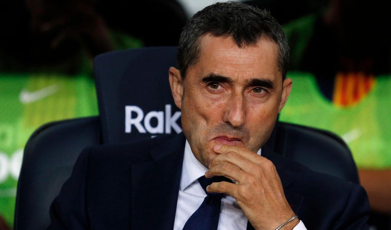 Ernesto Valverde, técnico del Barcelona, no se confía del Real Madrid