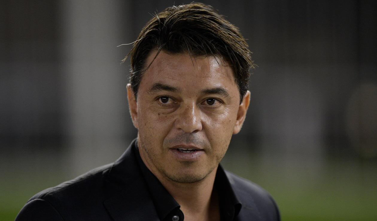 Marcelo Gallardo, técnico que ya le dijo no a la Selección Colombia