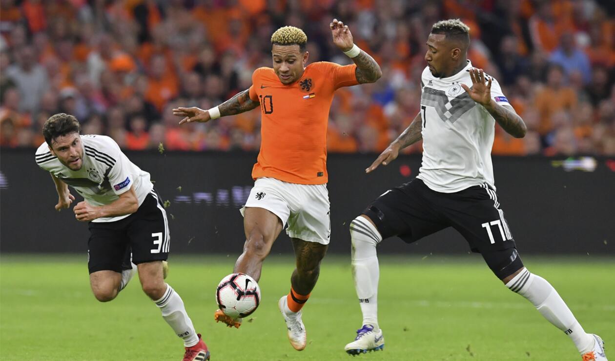 Holanda vs Alemania 2018