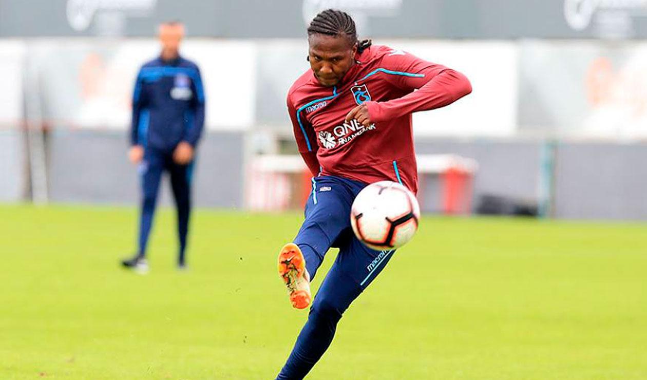 Hugo Rodallega ya suma tres temporadas en el Trabzonspor de Turquía
