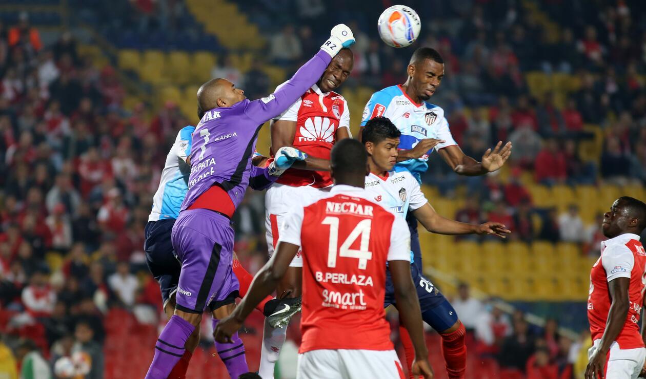 Santa Fe vs Junior de Barranquilla - Liga Águila 2018-II