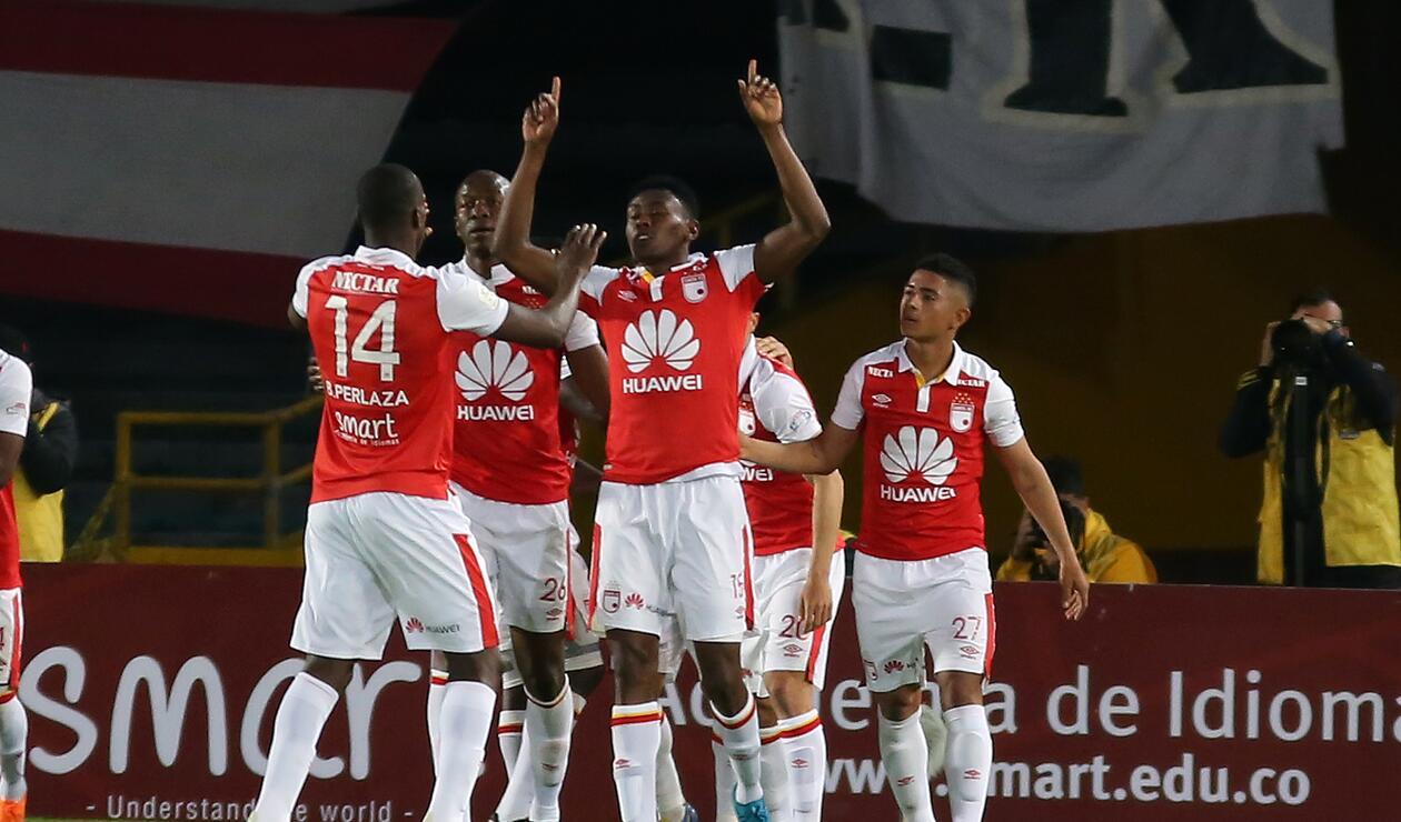 Jugadores de Independiente Santa Fe