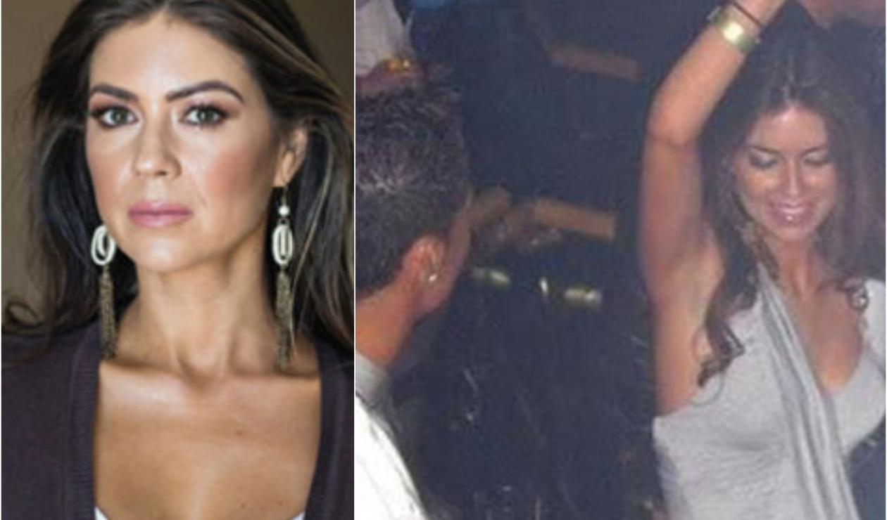 Kathryn Mayorga, denunciante de Cristiano Ronaldo. A la derecha juntos en Las Vegas (Estados Unidos)