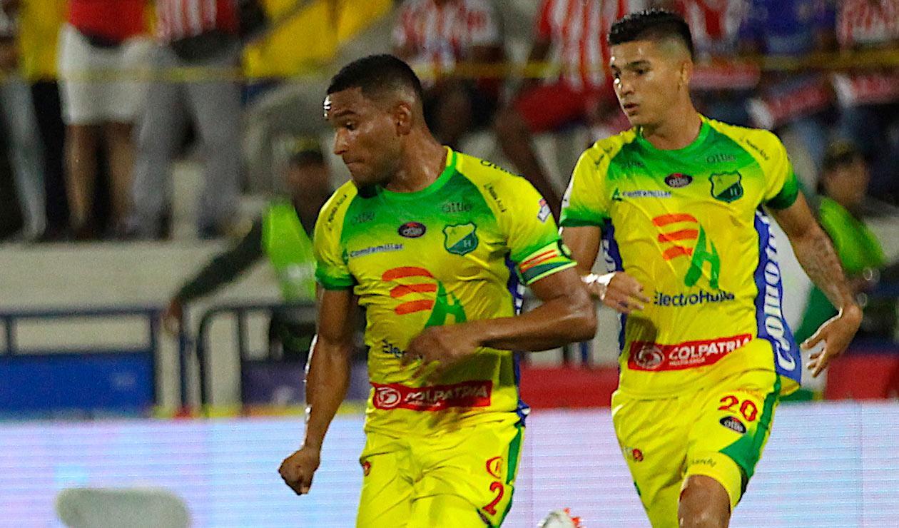 Atlético Huila quedó a ocho puntos de la zona de descenso en la Liga Águila