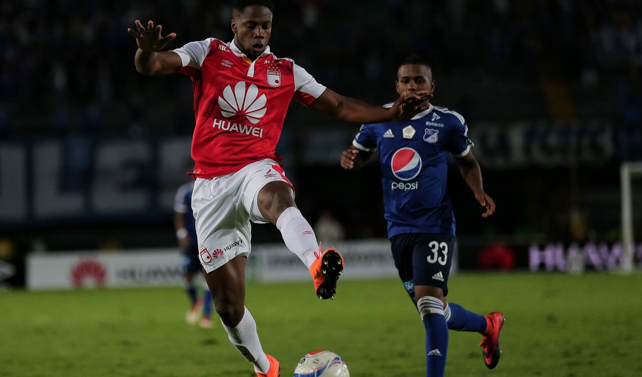 Leyvin Balanta sufrió una lesión muscular después del juego de Copa ate Once Caldas y estará 3 semanas fuera.