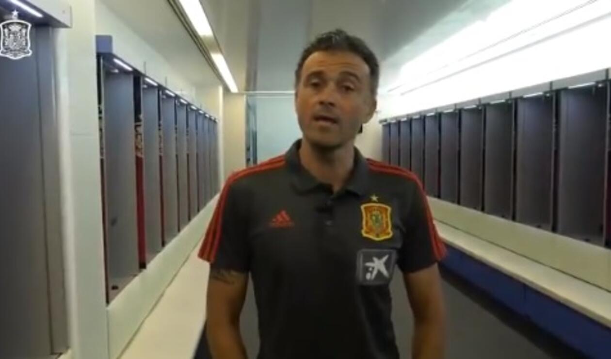 Luis Enrique técnico de España
