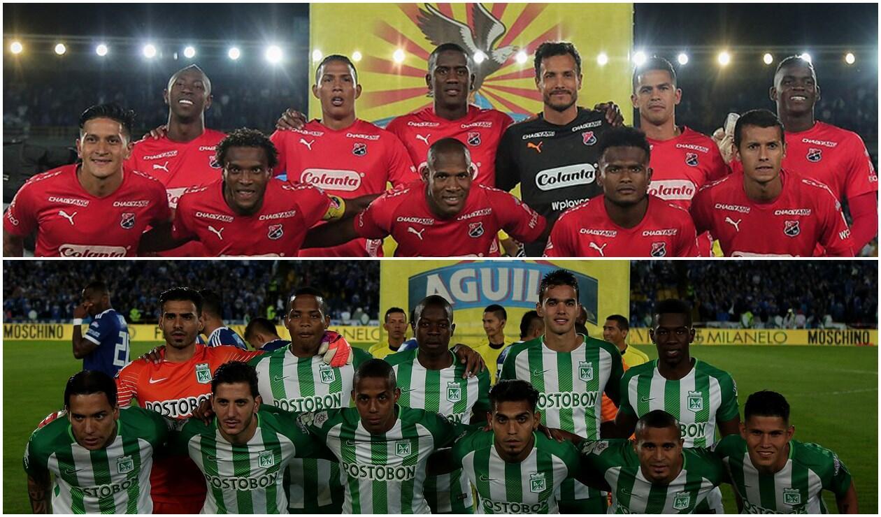 Medellín vs Nacional Liga Águila
