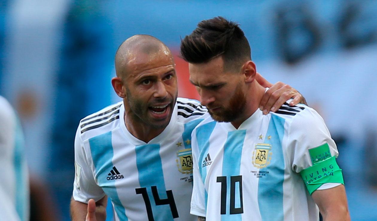 Javier Mascherano, el hombre de confianza de Lionel Messi en la selección argentina