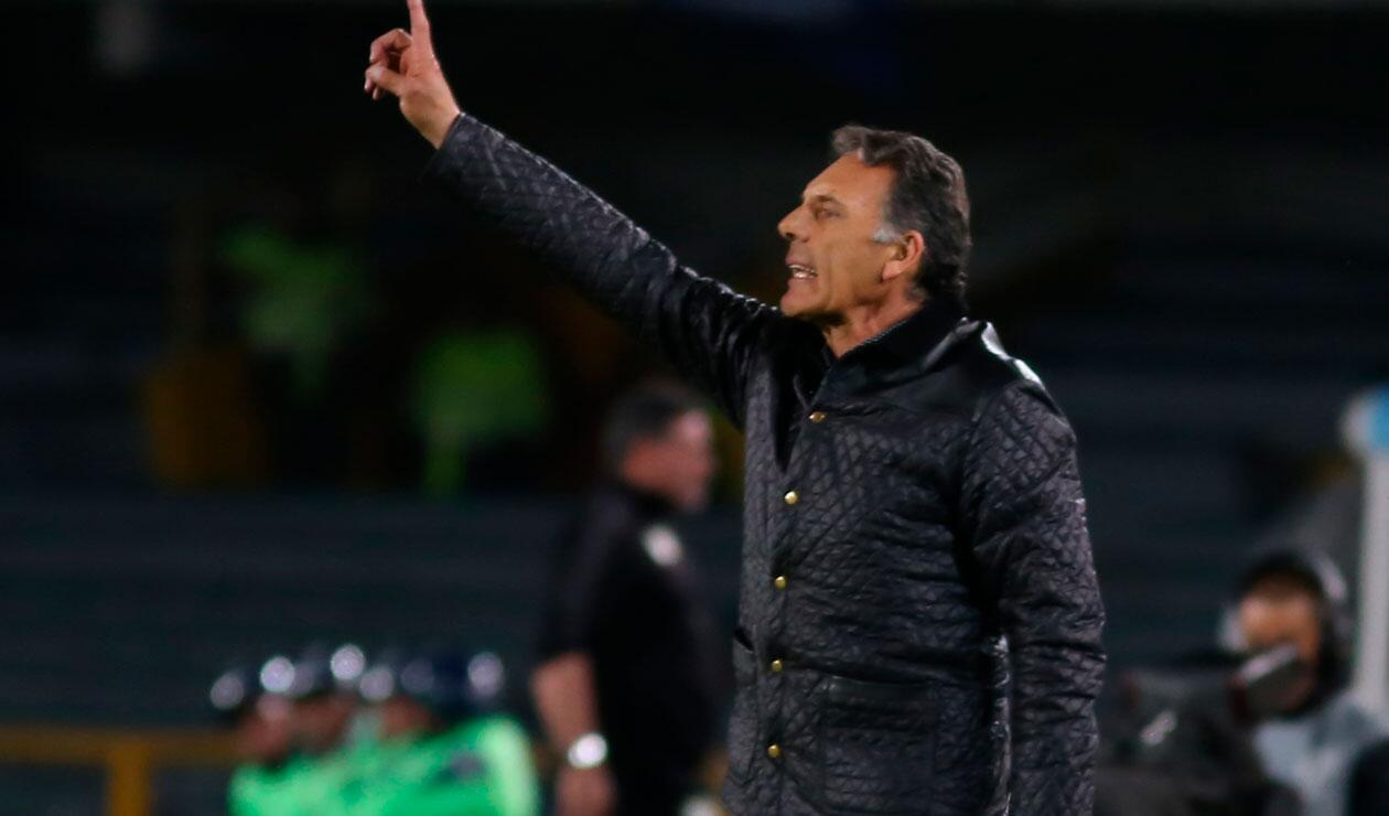 Miguel Ángel Russo, cuestionado por los malos resultados de Millonarios en el 2018