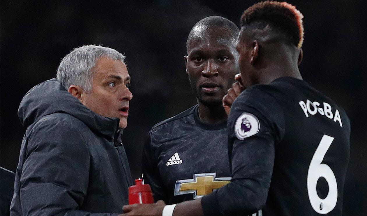 Mourinho habría tenido varias rencillas con algunos jugadores del Manchester United