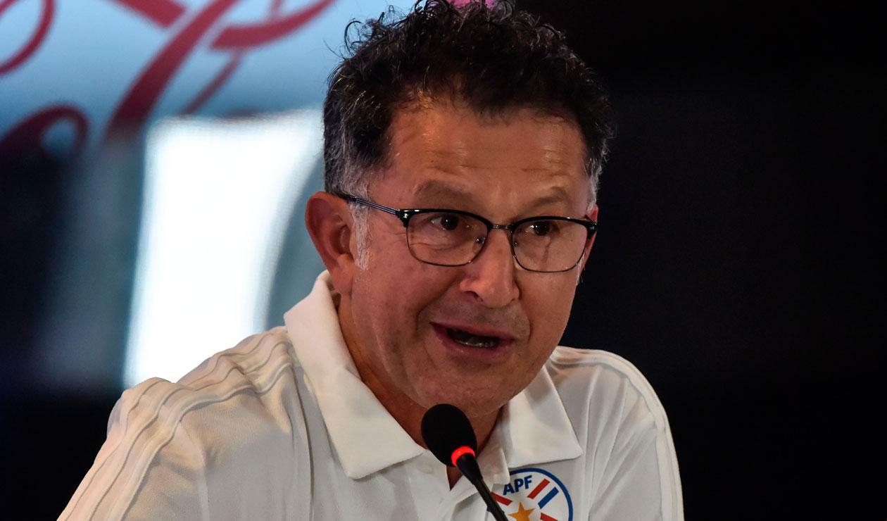 Juan Carlos Osorio fue nombrado como técnico de Paraguay a comienzos de septiembre