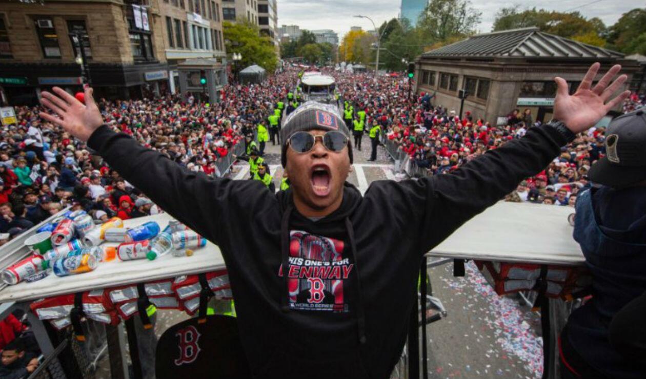 Medias Rojas de Boston - Celebración