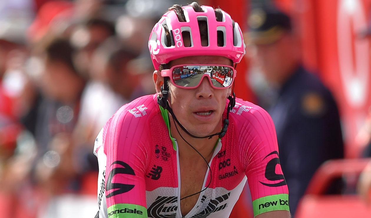 Rigoberto Urán del Education First fue el mejor colombiano en el Giro de Lombardía