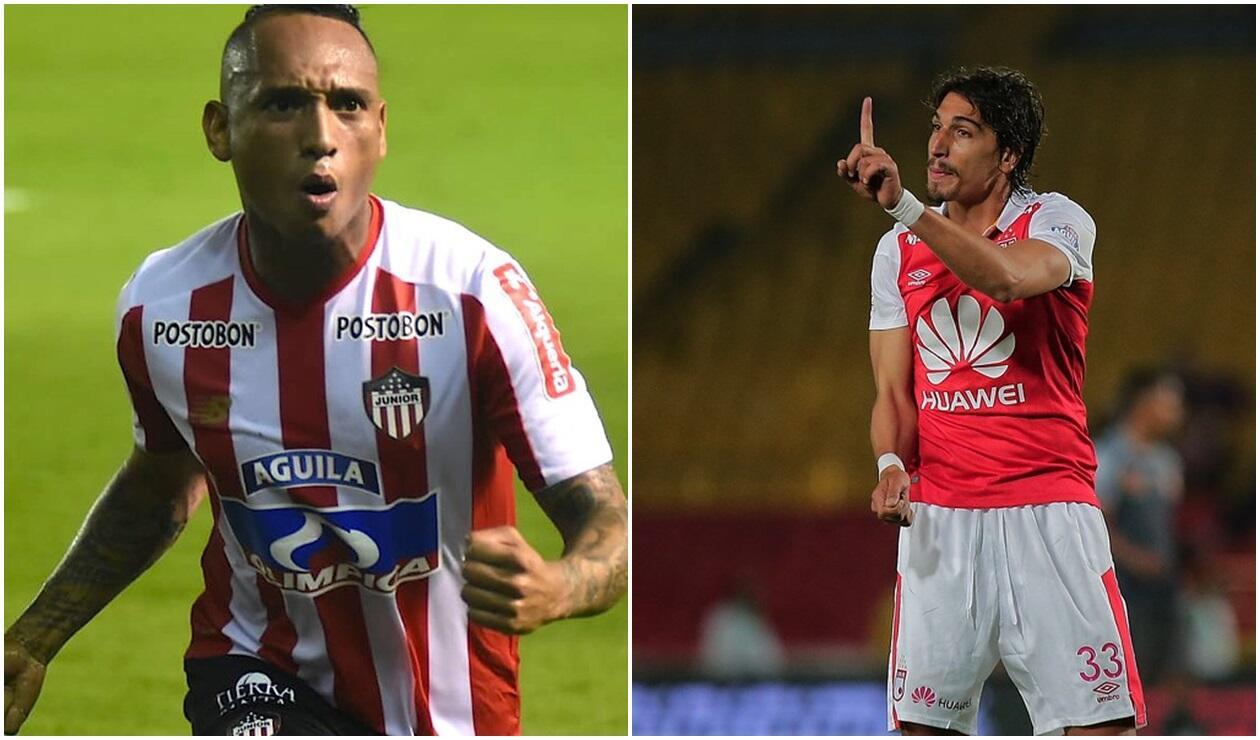 Jarlan Barrera y Diego Guastavino