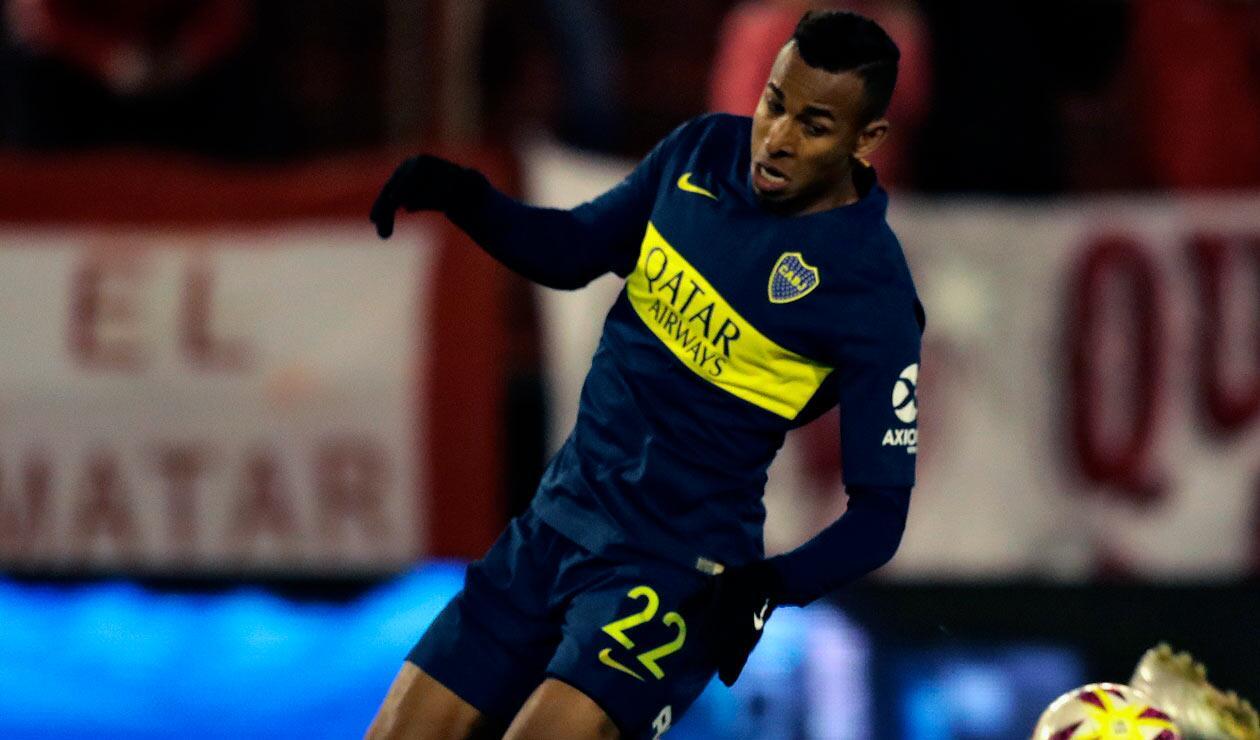 Sebastián Villa, figura de Boca Juniors