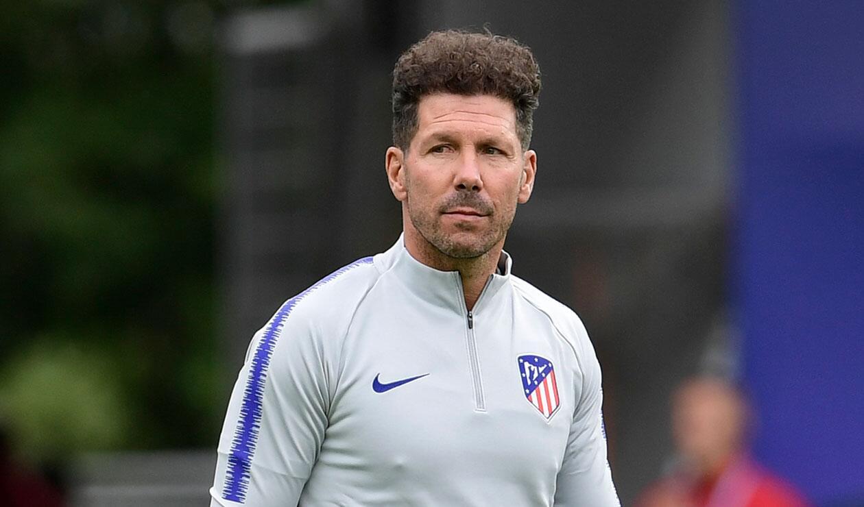 Diego Simeone, técnico del Atlético de Madrid desde la temporada 2012