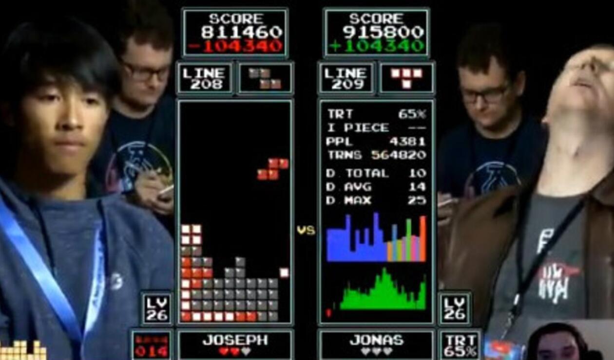 Final mundial de Tetris