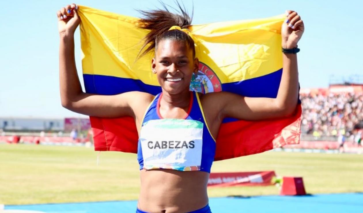 Valeria Cabezas, ganó medalla de oro en los Juegos de la Juventud