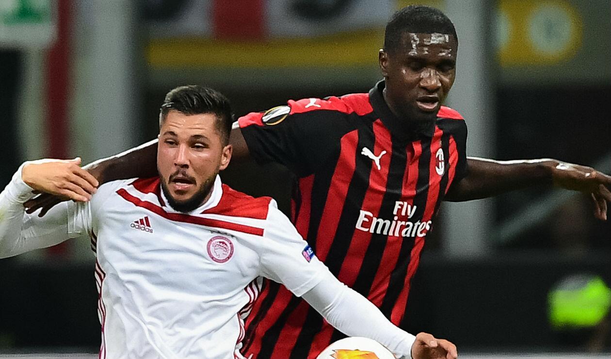 Cristian Zapata, jugador del AC Milan