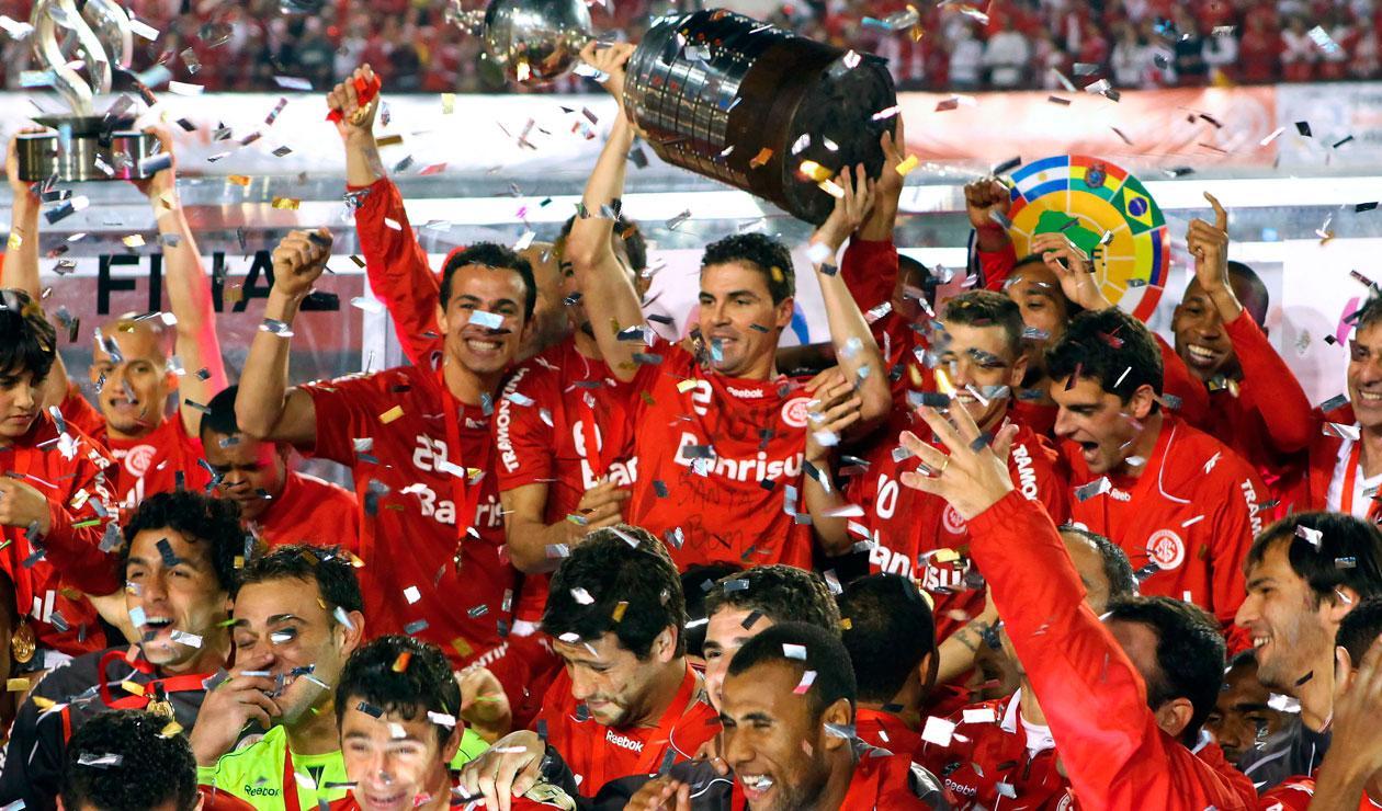 Sport Club Internacional de Porto Alegre (Brasil), campeón de la Copa Libertadores 2010.