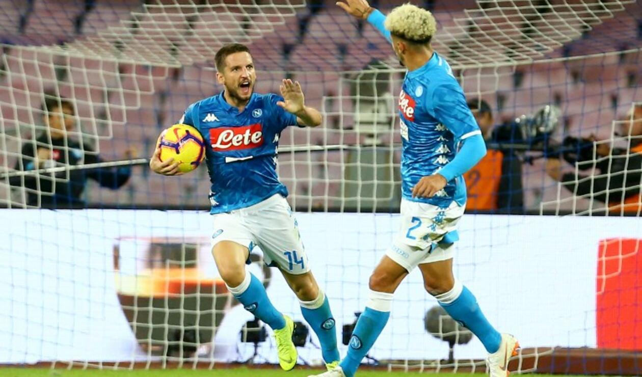 Napoli encaró el juego ante Empoli sin la presencia de David Ospina
