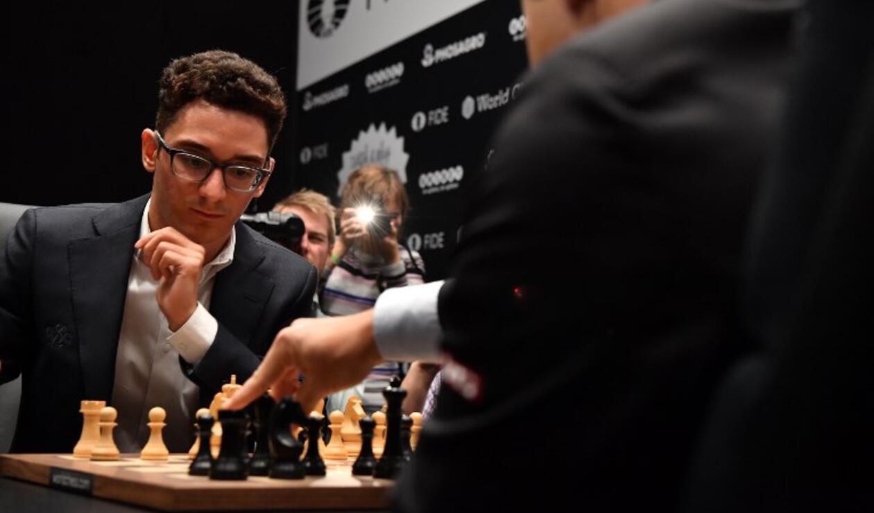 Fabiano Caruana, primer estadounidense que va por el título mundial desde el legendario Bobby Fischer en 1972.