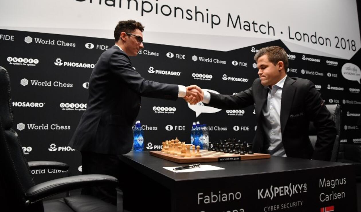 El noruego Magnus Carlsen, ofreció tablas a Fabiano Caruana cuando el estadounidense estaba en serios apuros