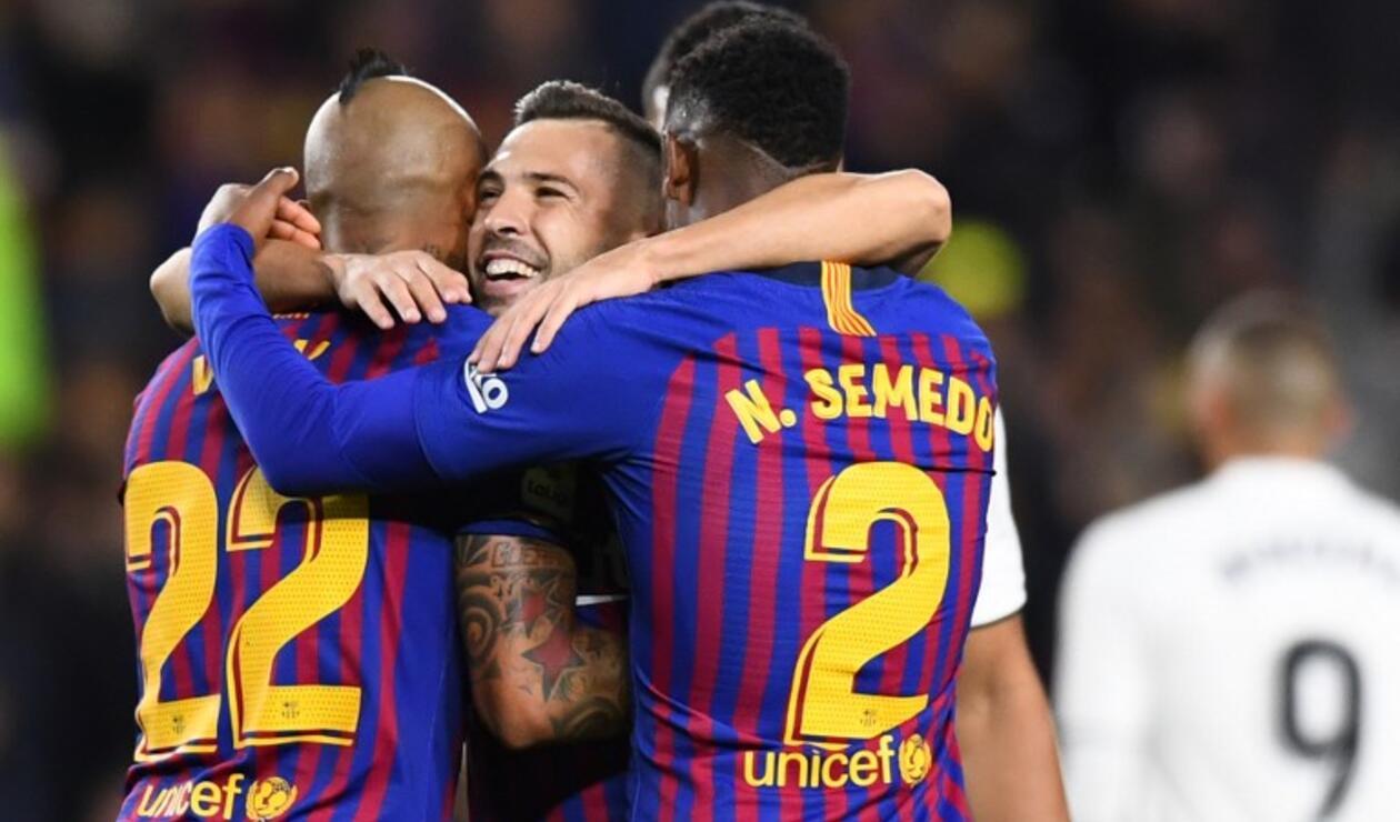 Barcelona viene de golear al Real Madrid en la pasada fecha de la liga española