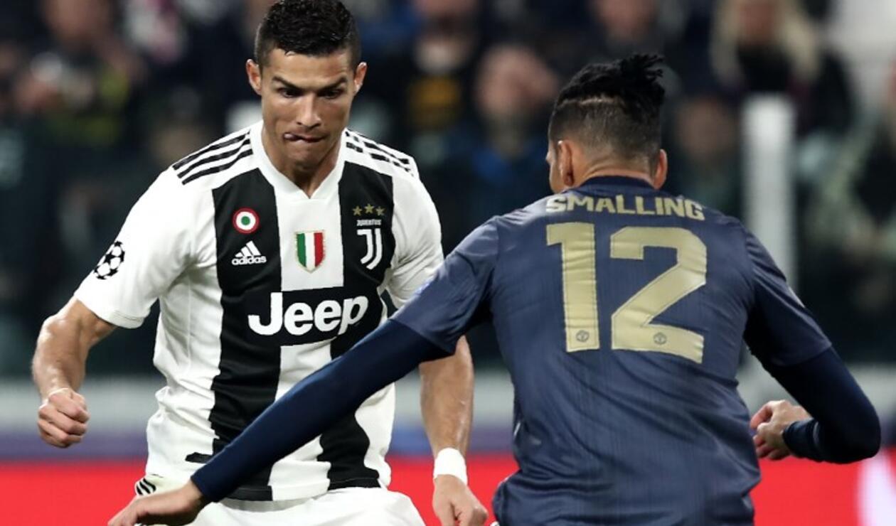 Juventus y Manchester United protagonizaron el partido de la fecha en la Champions League