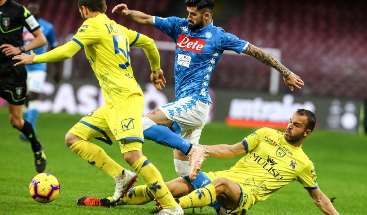 Napoli vs Chievo Verona, Serie A