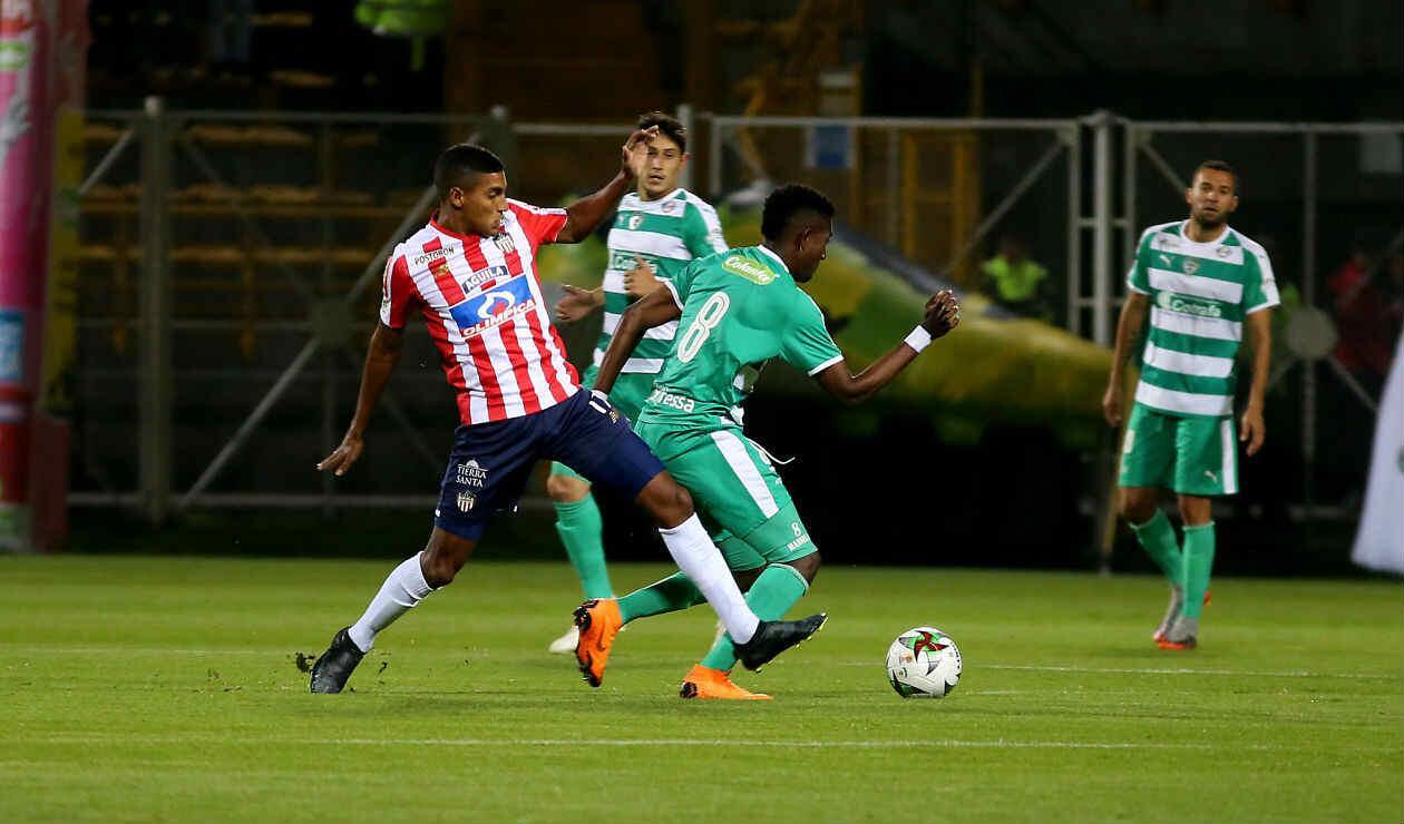 A primera hora, Águilas de Rionegro obtuvo la clasificación ante Once Caldas
