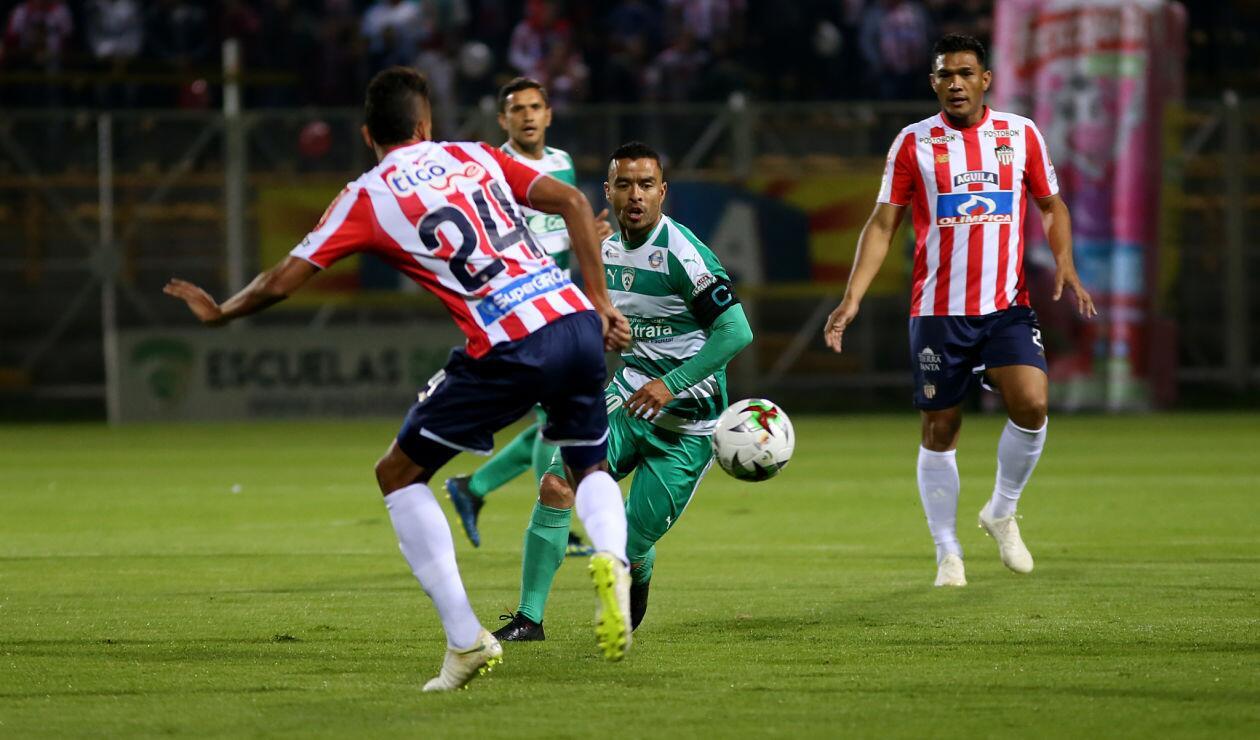 La Equidad venía de perder el partido de ida ante Junior en Barranquilla por 1-0