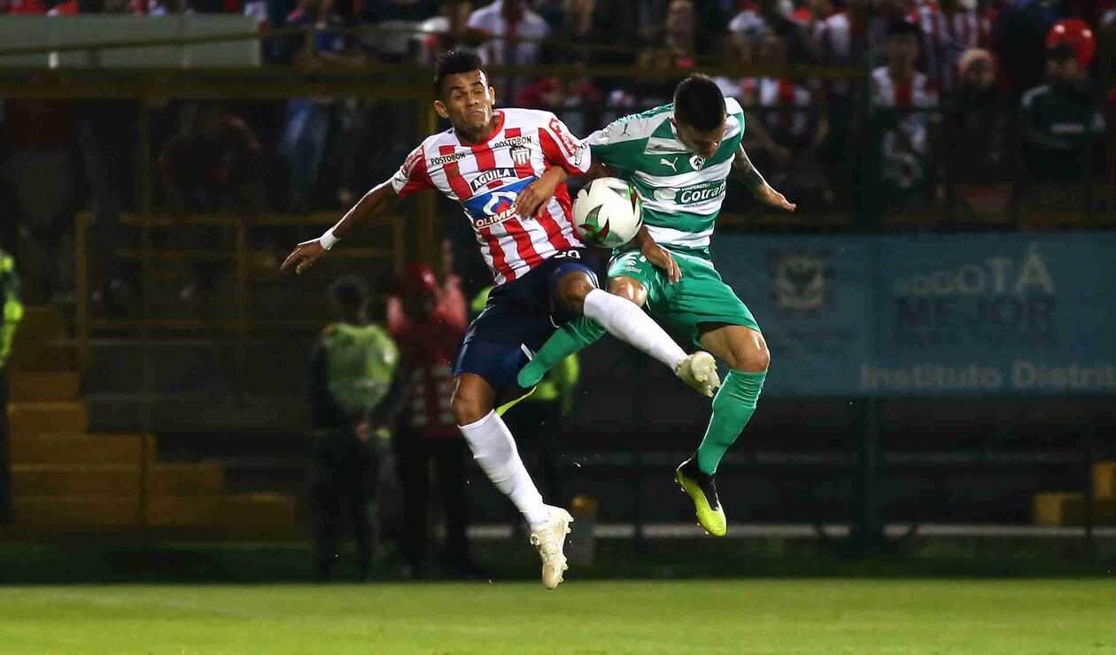 La Equidad, igual, complicó a Junior en varias ocasiones durante el partido