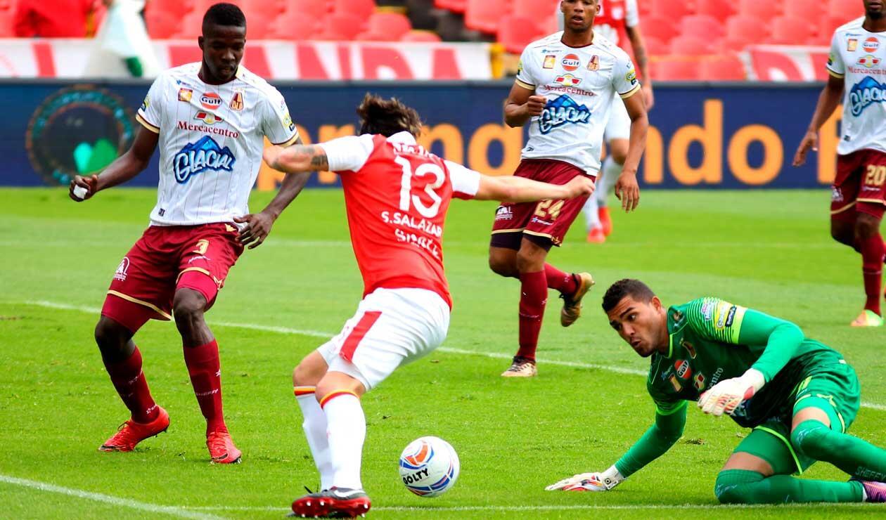 Tolima llegó al partido ante Santa Fe con la clasificación asegurada
