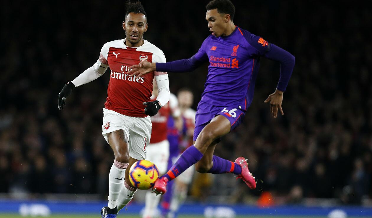 Arsenal Vs Liverpool · Premier League 2018