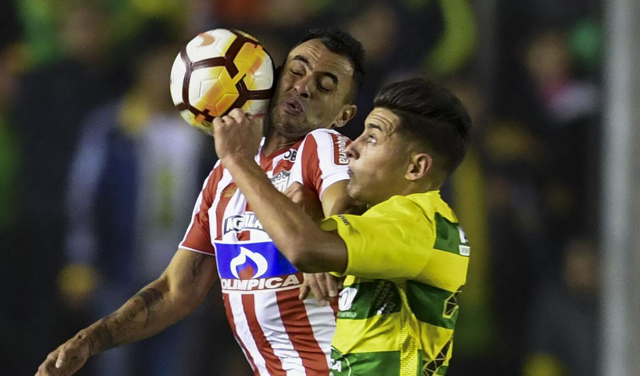 Junior sufrió más de la cuenta frente a Defensa y Justicia en la Copa Sudamericana