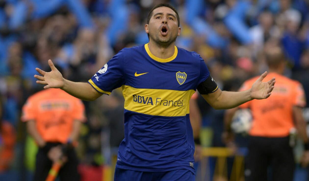 Juan Román Riquelme, exjugador de Boca Juniors.