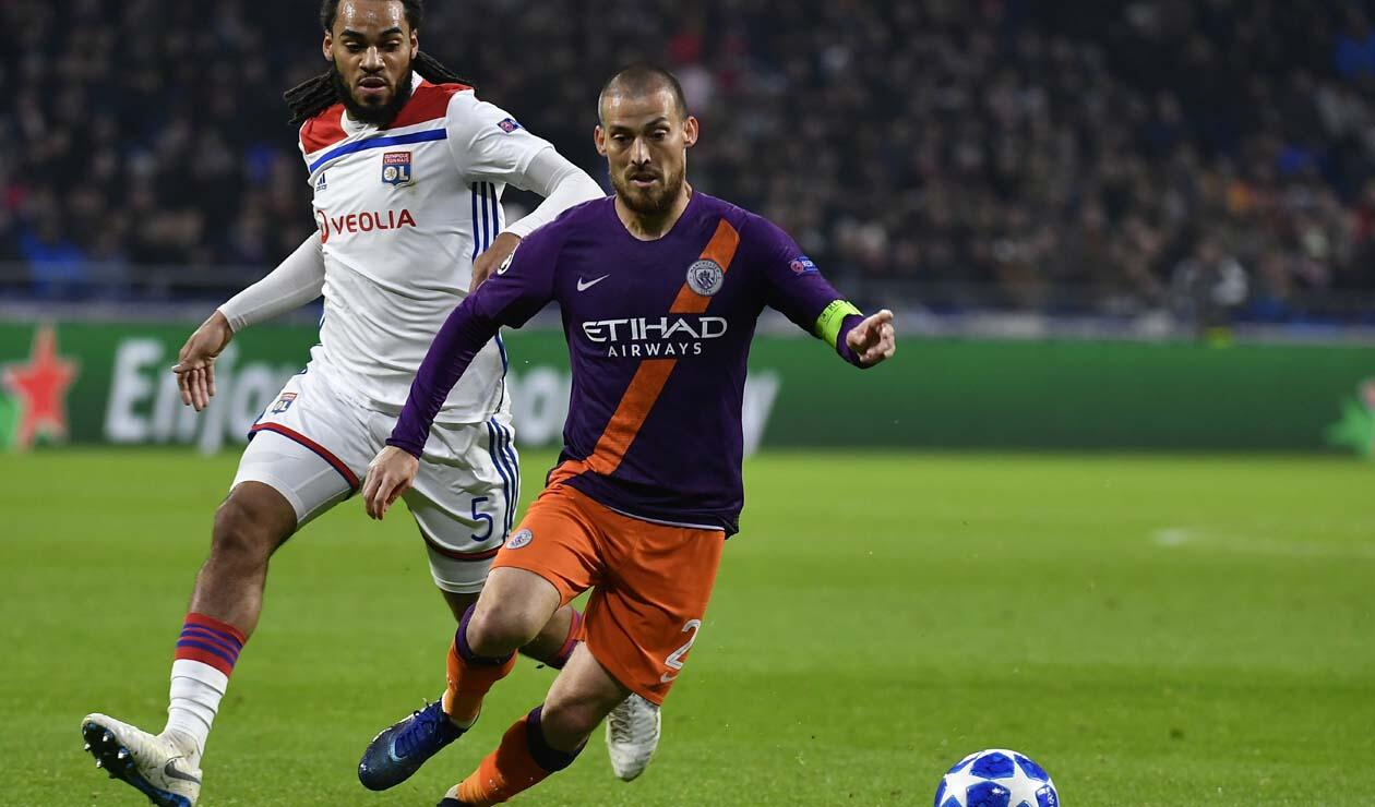 Lyon vs Manchester City - Champions League