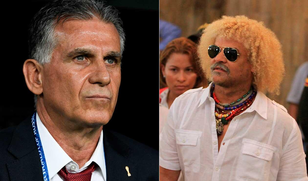 Carlos el 'Pibe' Valderrama prefiere a un colombiano que a Carlos Queiroz