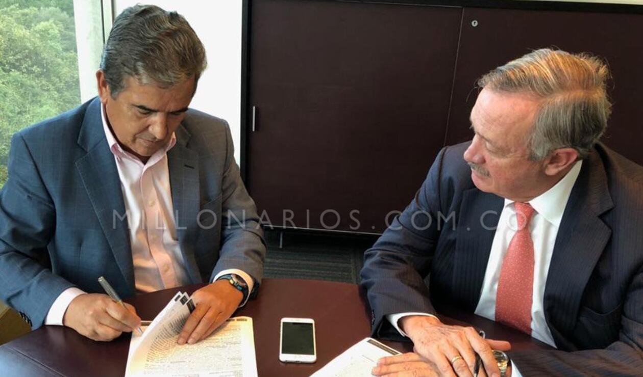 Pinto firmó con Millonarios