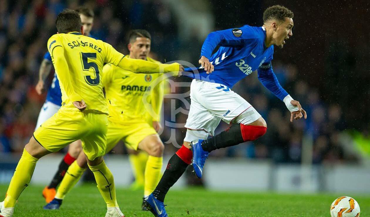 Glasgow Rangers vs Villarreal - Europa League
