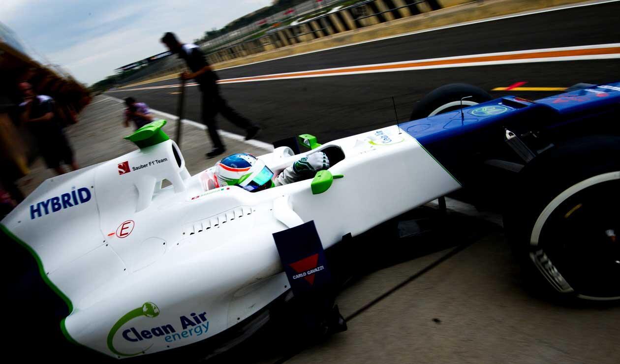 Simona de Silvestro, piloto de Sauber