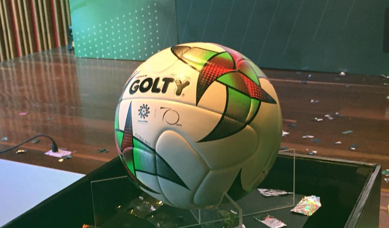 La Liga Águila presentó su balón para la temporada 2019