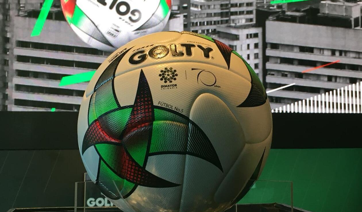 Golty presentó el balón con el que se jugará la Liga, el Torneo y la Copa Águila del 2019