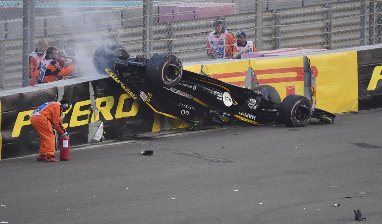 Accidente de Hülkenberg en la F1