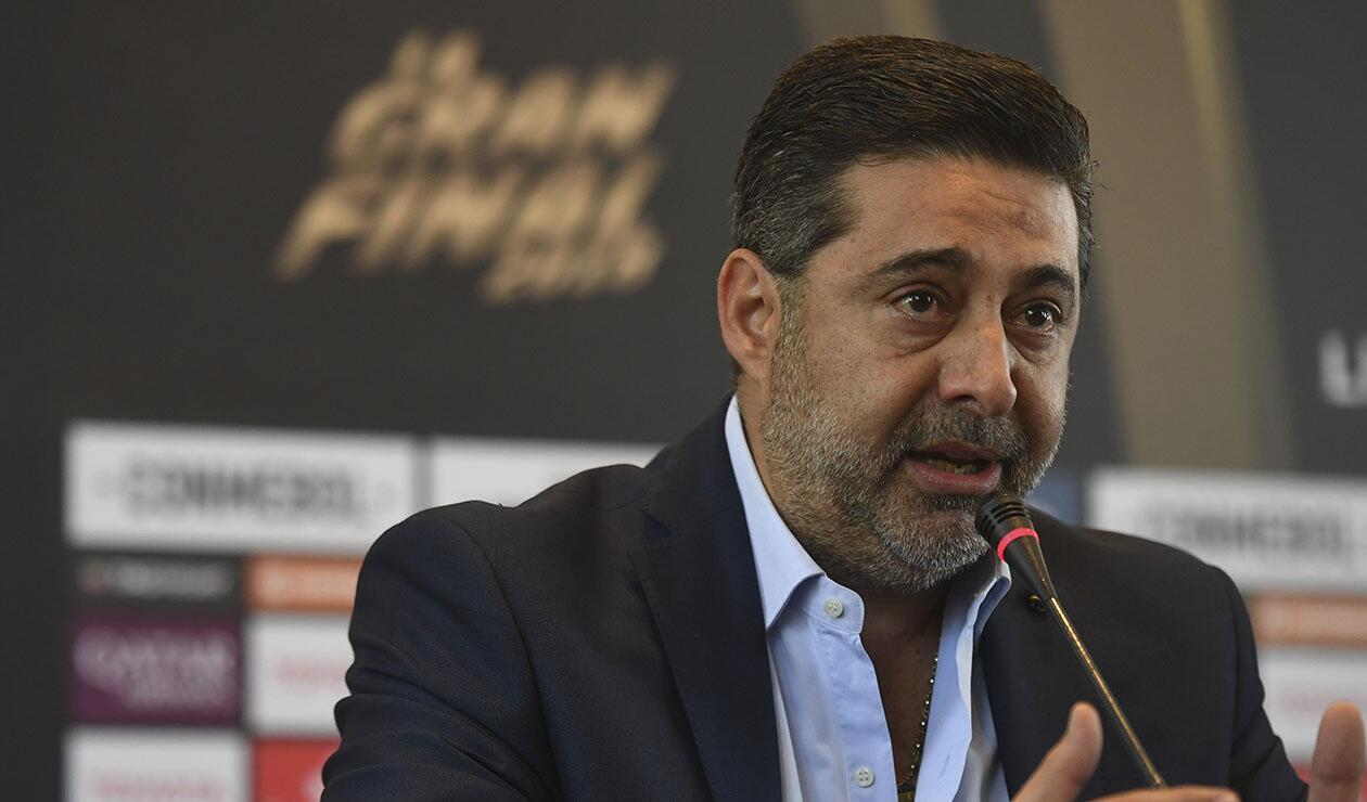 Daniel Angelici, presidente de Boca Juniors