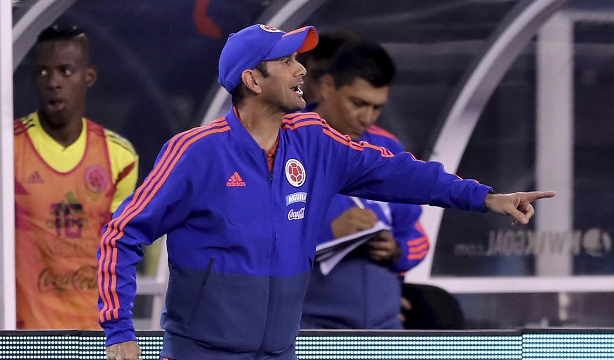 Arturo Reyes, técnico de la Selección Colombia Sub-20