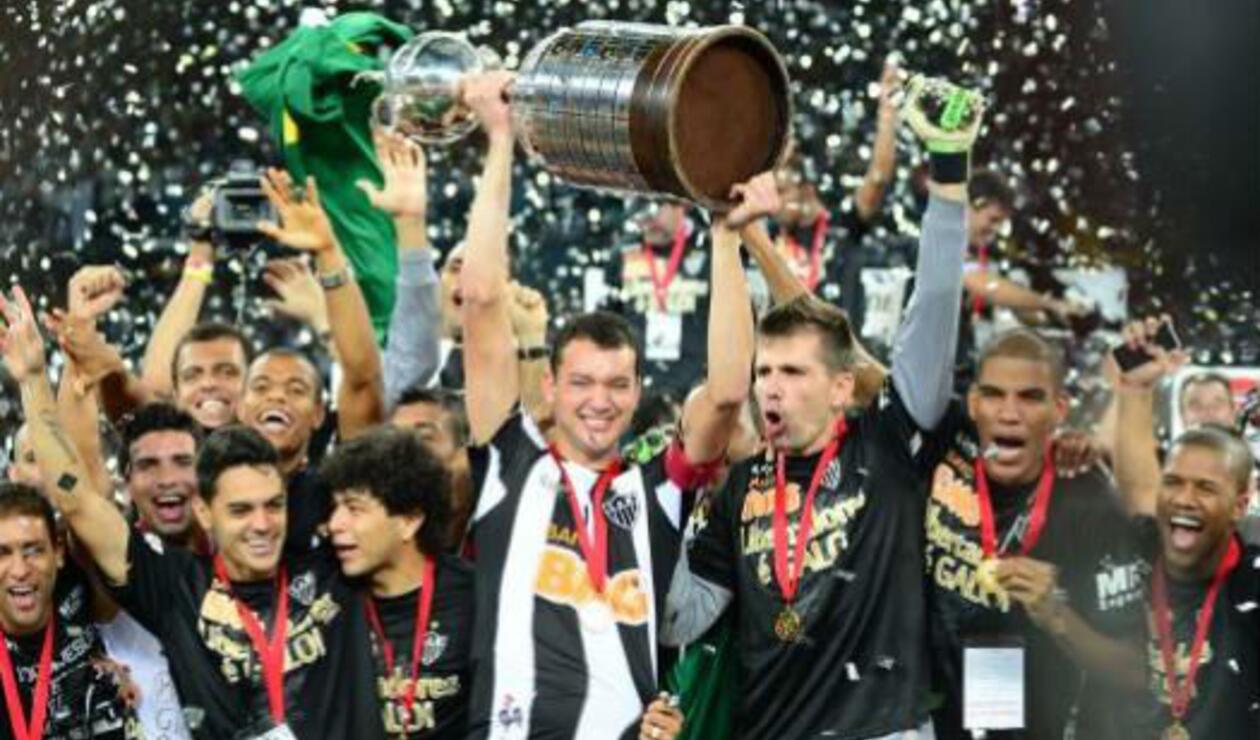 Atlético Mineiro (Brasil), campeón de la Copa Libertadores 2013.