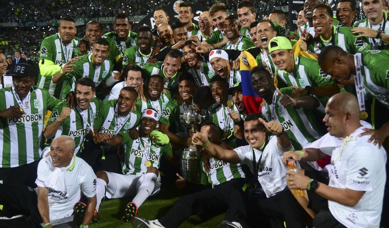 Atlético Nacional (Colombia), campeón de la Copa Libertadores 2016.