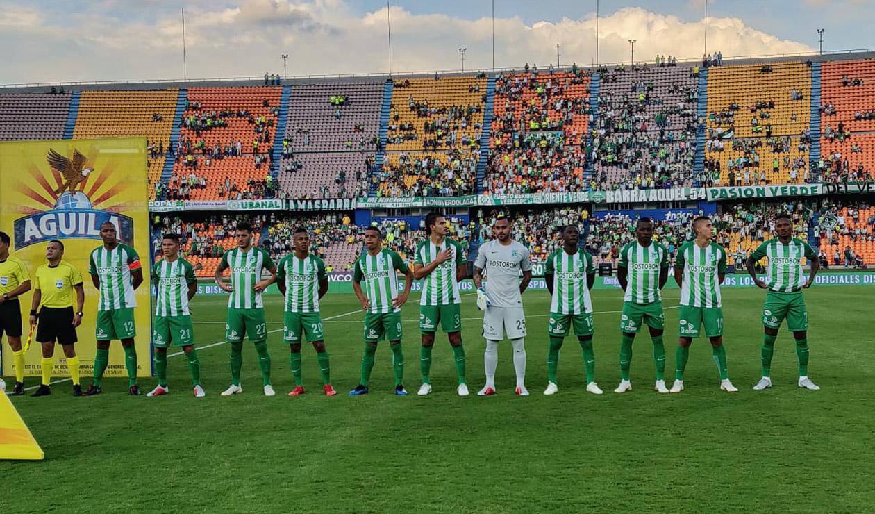 Atlético Nacional formado